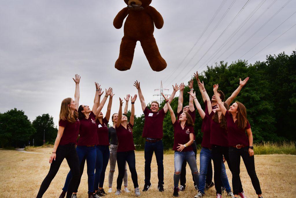 Das Organisations-Team des Teddybärkrankenhauses 2017