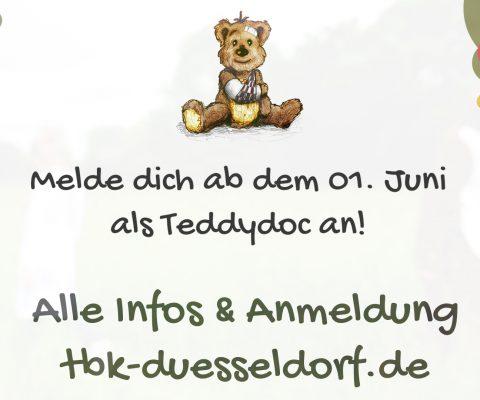 Die Anmeldung für Teddydocs startet am 01.06.2019!